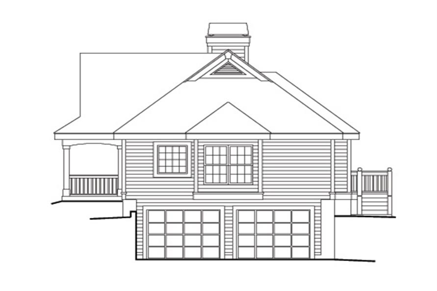 138-1147: Home Plan Right Elevation