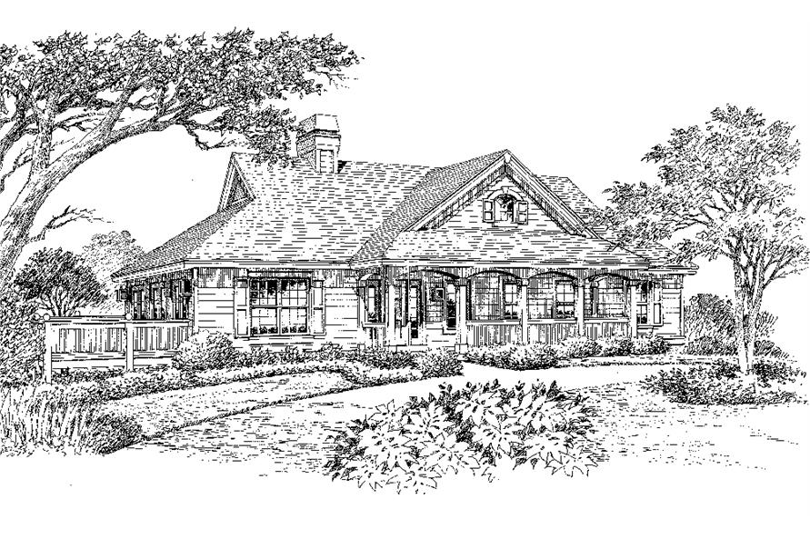 138-1147: Home Plan Rendering