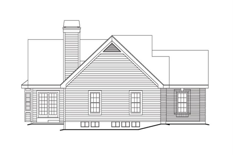 138-1148: Home Plan Left Elevation