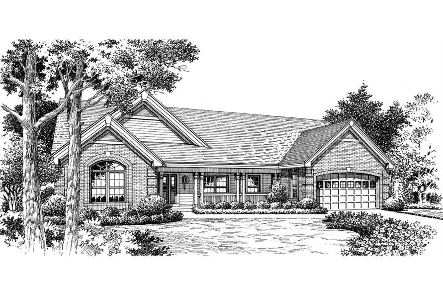 138-1148: Home Plan Rendering