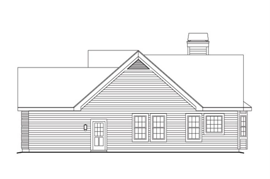 138-1148: Home Plan Right Elevation
