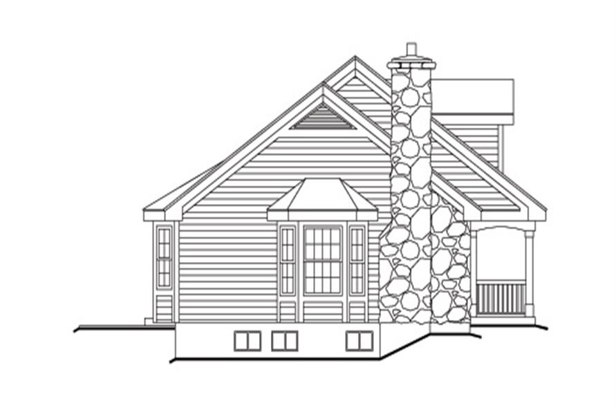138-1149: Home Plan Left Elevation