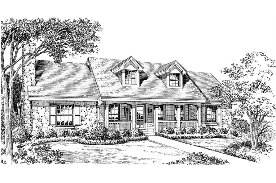 138-1149: Home Plan Rendering