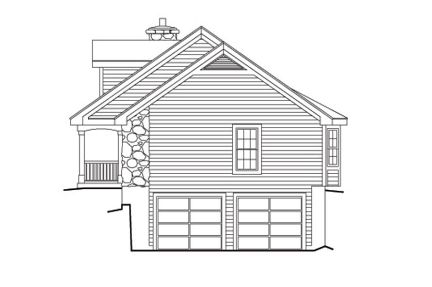 138-1149: Home Plan Right Elevation