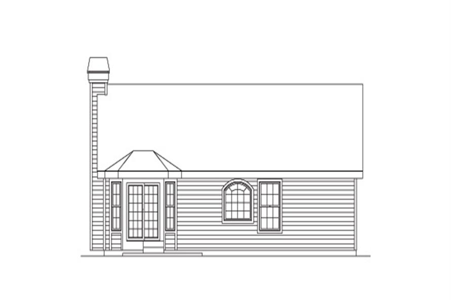 138-1150: Home Plan Rear Elevation