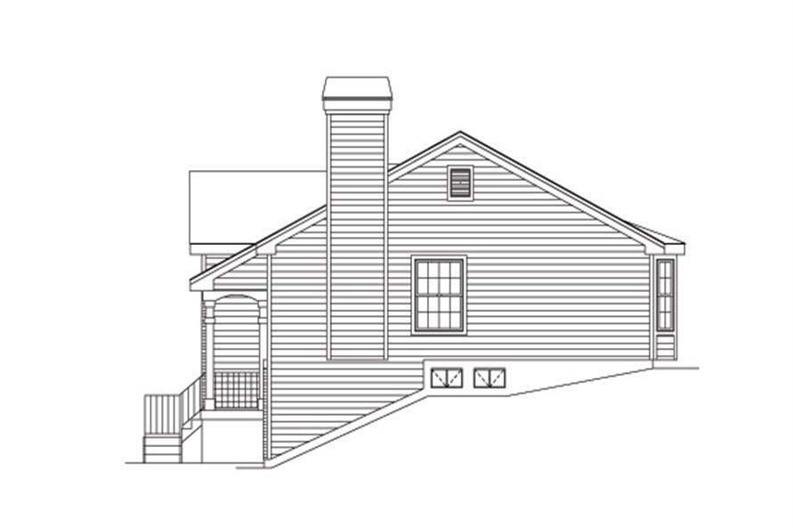138-1150: Home Plan Right Elevation