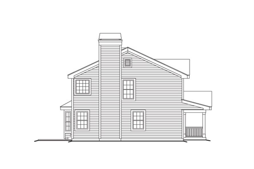 138-1153: Home Plan Left Elevation