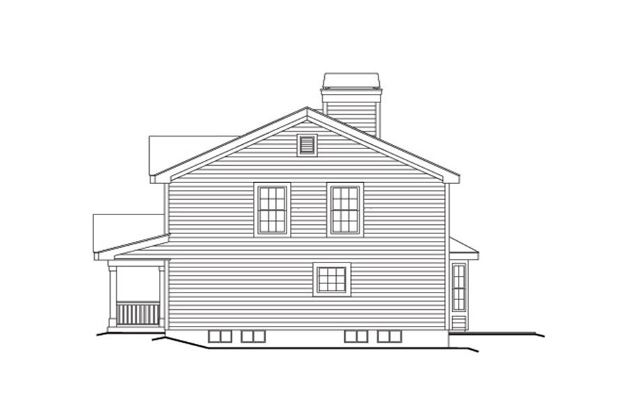 138-1153: Home Plan Right Elevation