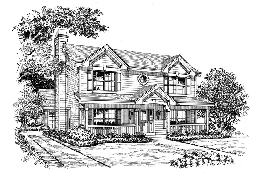 138-1153: Home Plan Rendering
