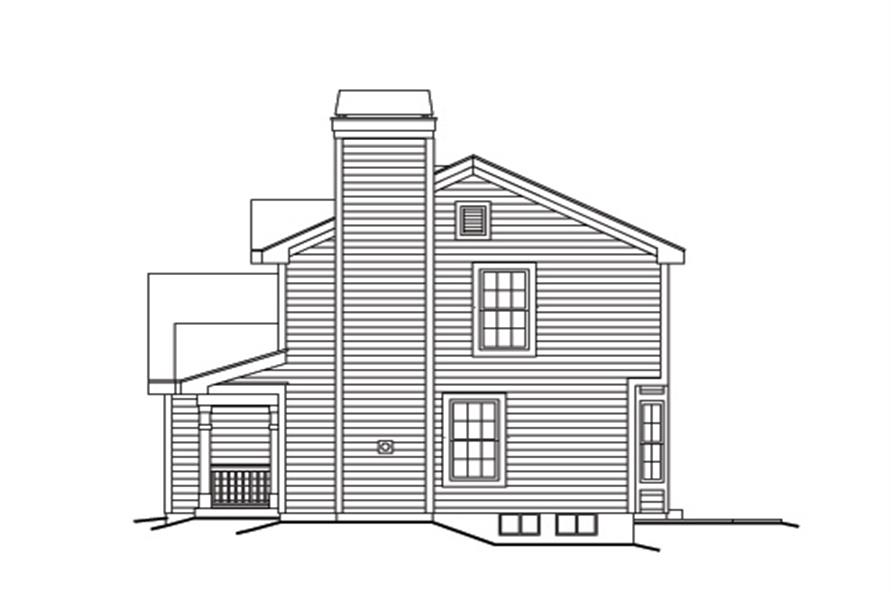 138-1154: Home Plan Right Elevation