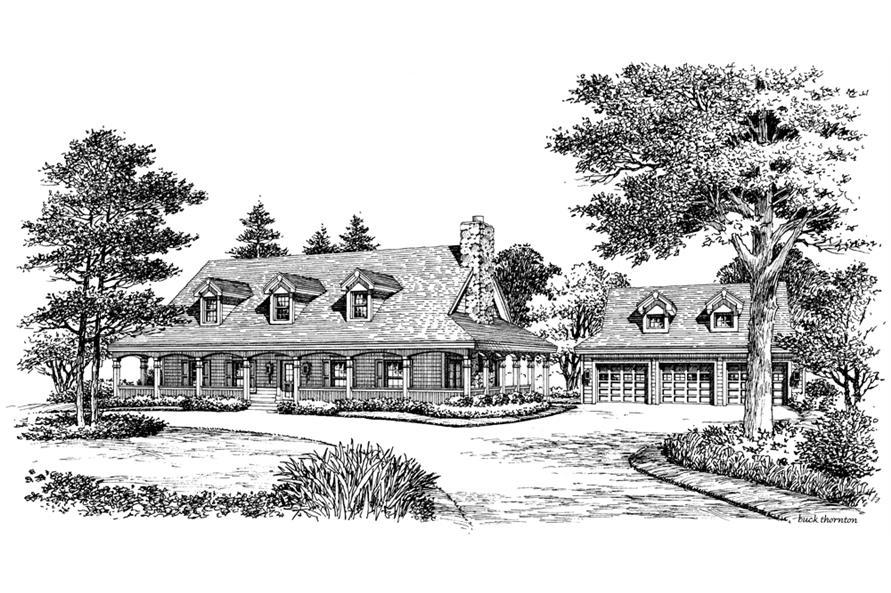 138-1155: Home Plan Rendering