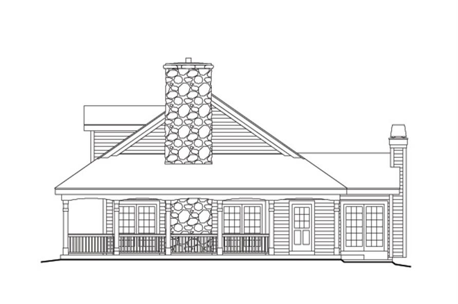 138-1155: Home Plan Right Elevation