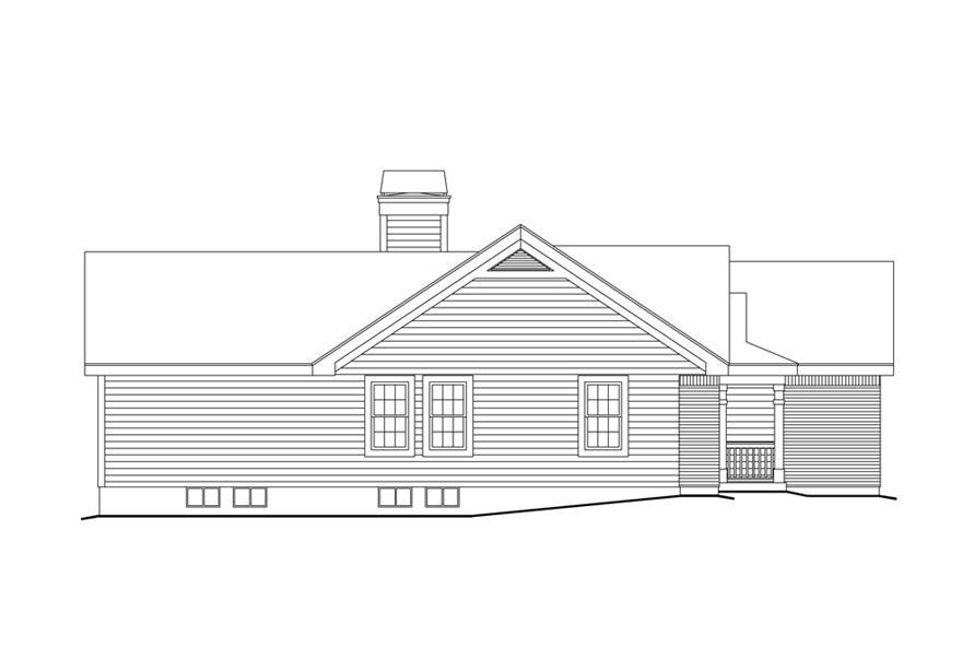 138-1156: Home Plan Left Elevation