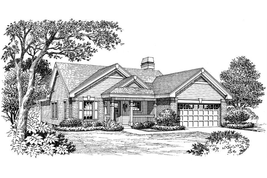 138-1156: Home Plan Rendering