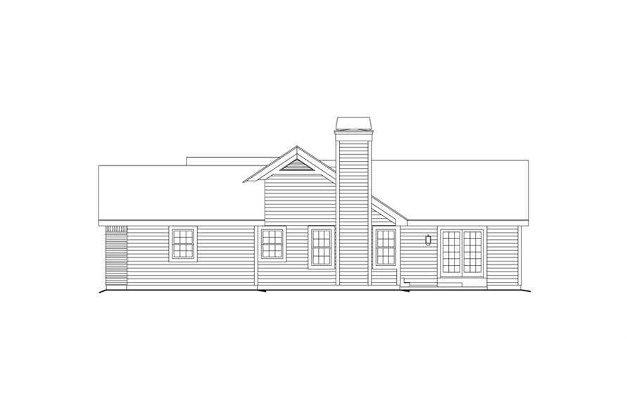 138-1156: Home Plan Right Elevation