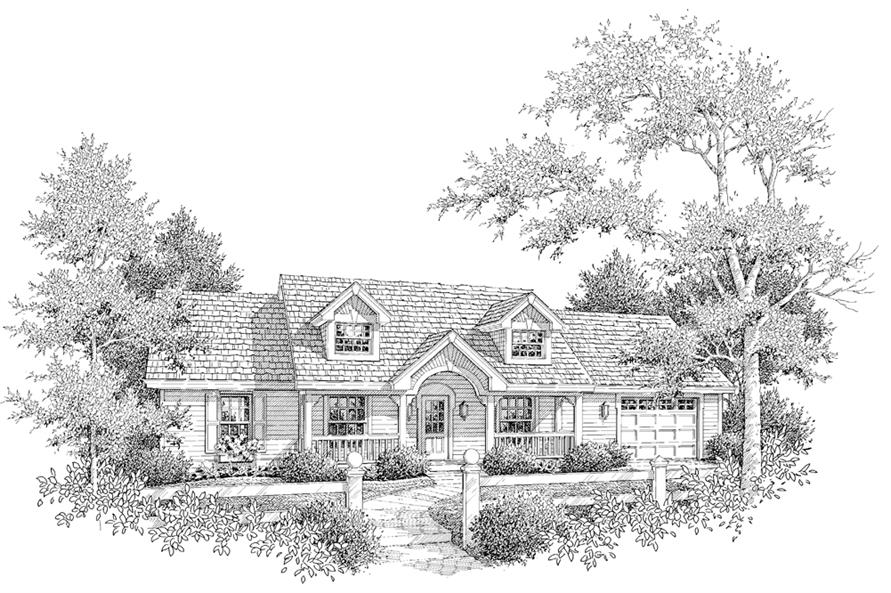 138-1157: Home Plan Rendering
