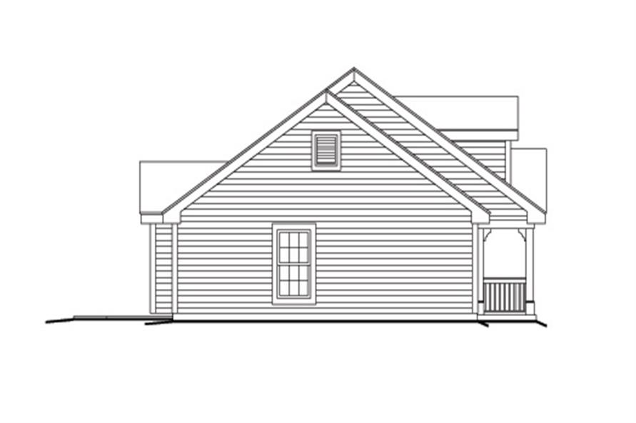 138-1157: Home Plan Left Elevation