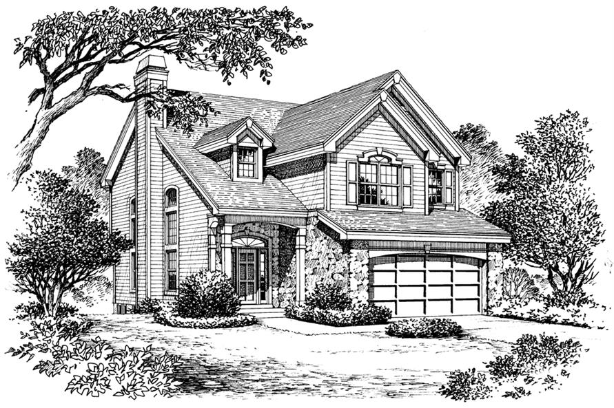 138-1158: Home Plan Rendering