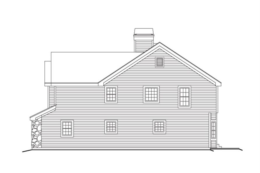 138-1158: Home Plan Right Elevation