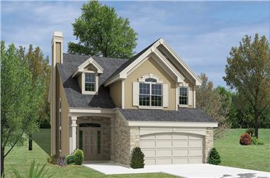 3-Bedroom, 2158 Sq Ft Country House Plan - 138-1158 - Front Exterior