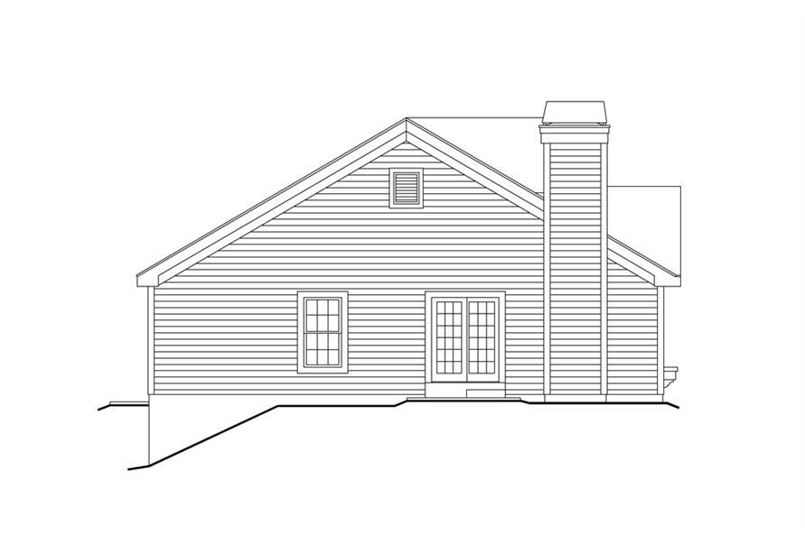 138-1159: Home Plan Left Elevation