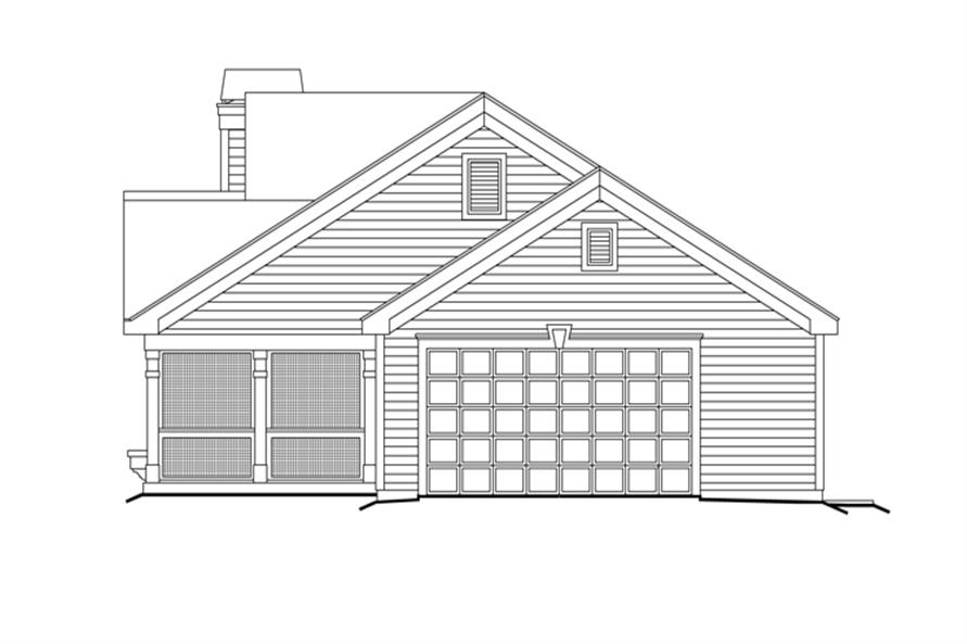 138-1159: Home Plan Right Elevation
