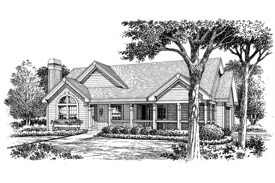 138-1159: Home Plan Rendering