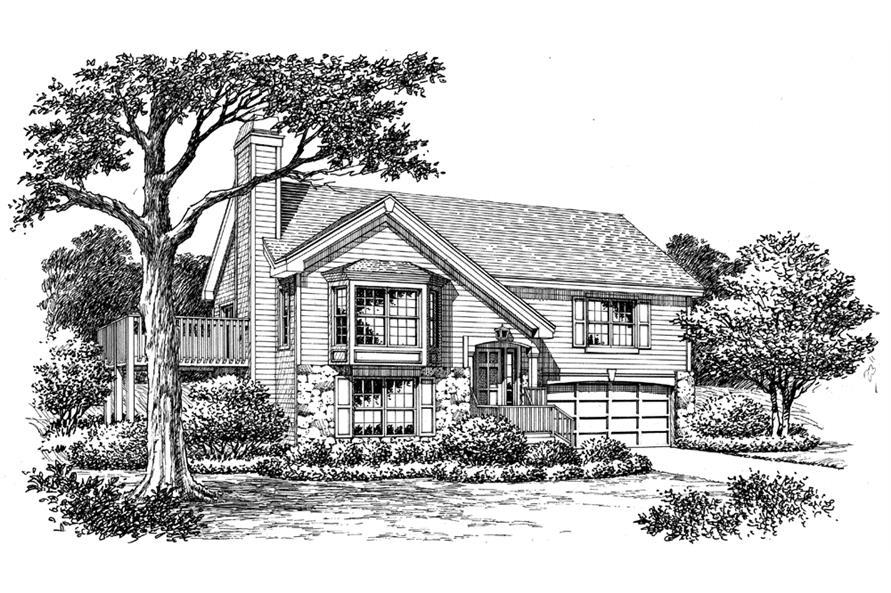 138-1160: Home Plan Rendering