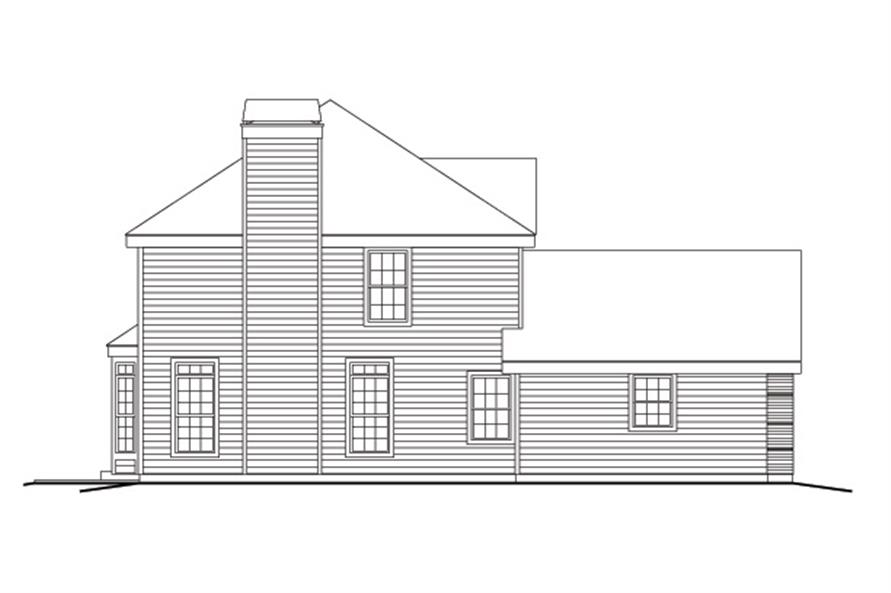 138-1161: Home Plan Left Elevation