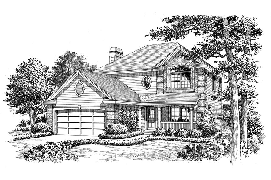 138-1161: Home Plan Rendering