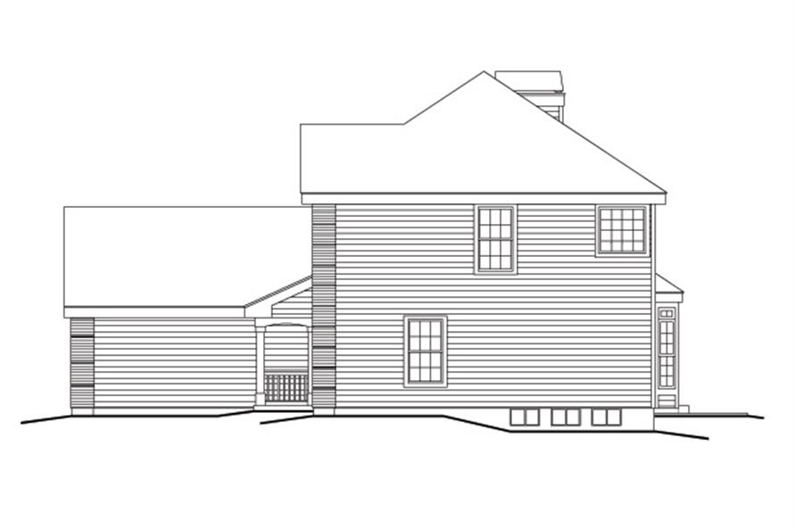 138-1161: Home Plan Right Elevation