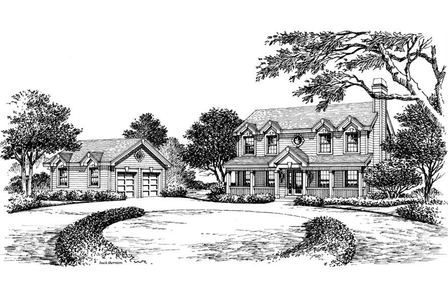 138-1162: Home Plan Rendering