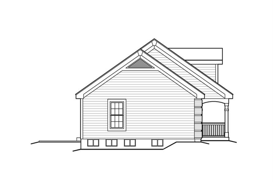 138-1165: Home Plan Left Elevation