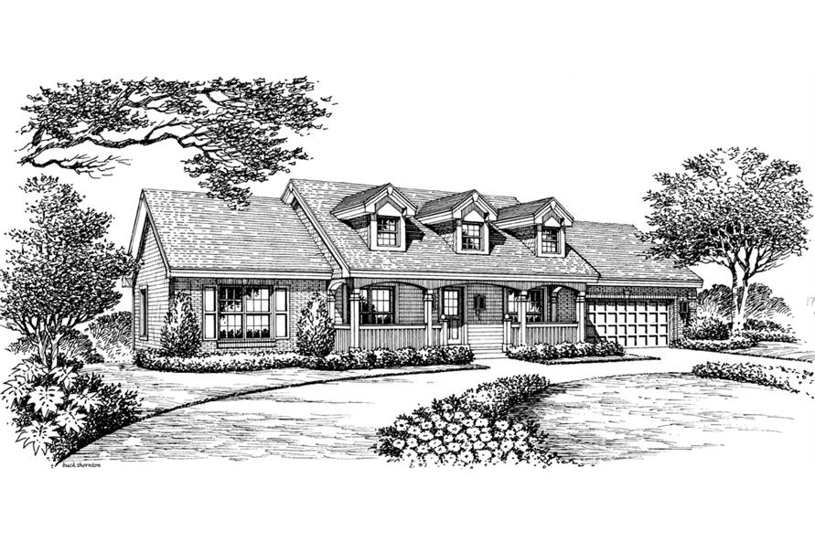 138-1165: Home Plan Rendering