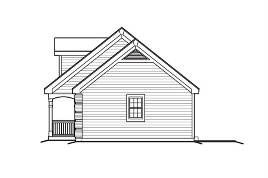 138-1165: Home Plan Right Elevation