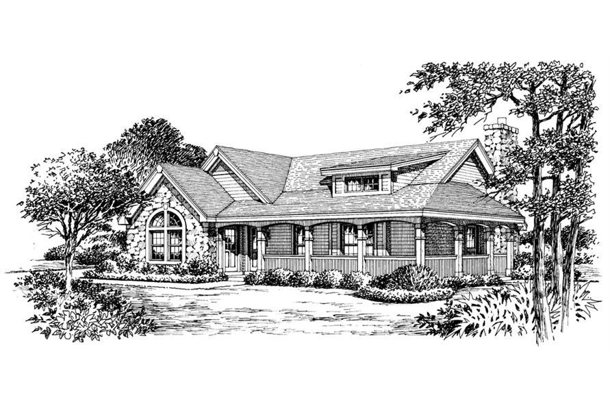 138-1166: Home Plan Rendering