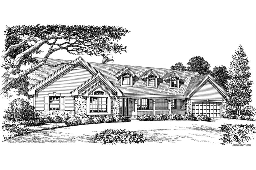 138-1167: Home Plan Rendering