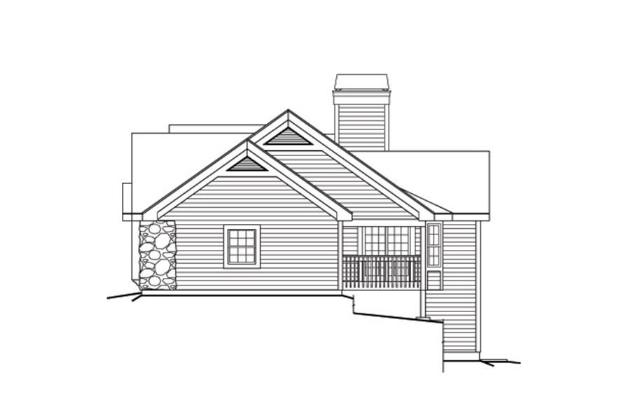 138-1167: Home Plan Right Elevation