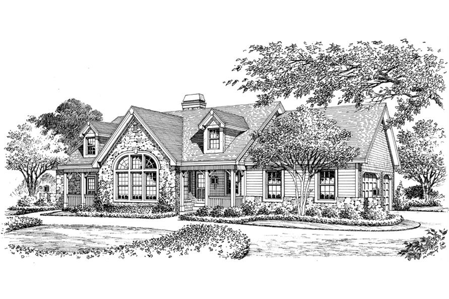 138-1168: Home Plan Rendering