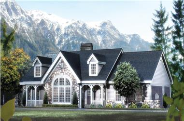 2-Bedroom, 1568 Sq Ft Traditional Home Plan - 138-1168 - Main Exterior