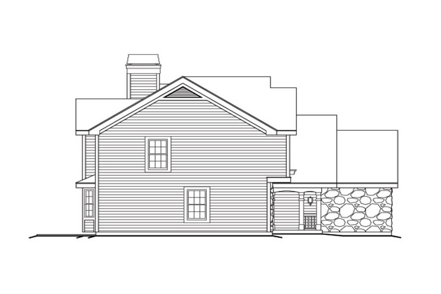 138-1169: Home Plan Left Elevation