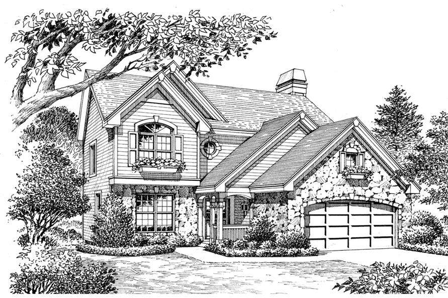 138-1169: Home Plan Rendering