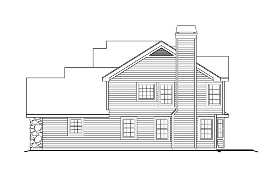 138-1169: Home Plan Right Elevation