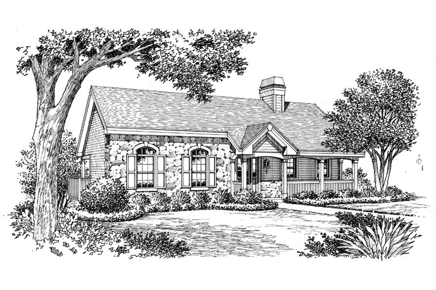 138-1170: Home Plan Rendering