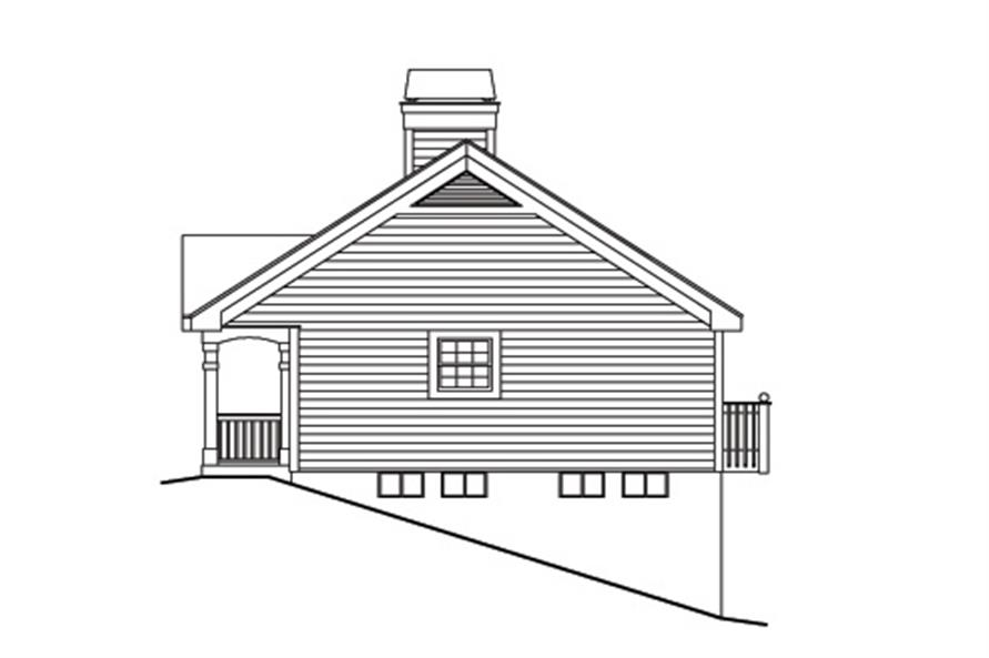 138-1170: Home Plan Right Elevation