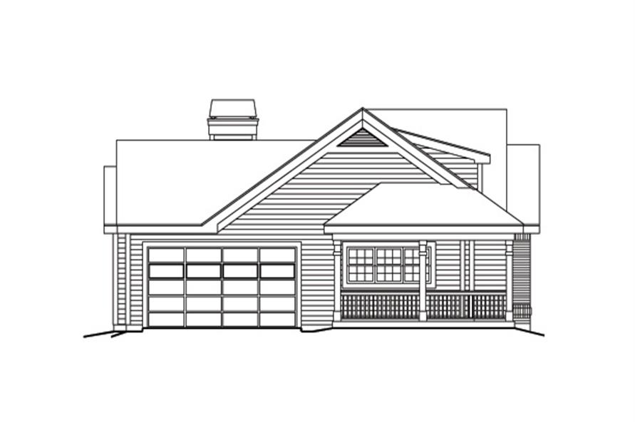 138-1171: Home Plan Left Elevation