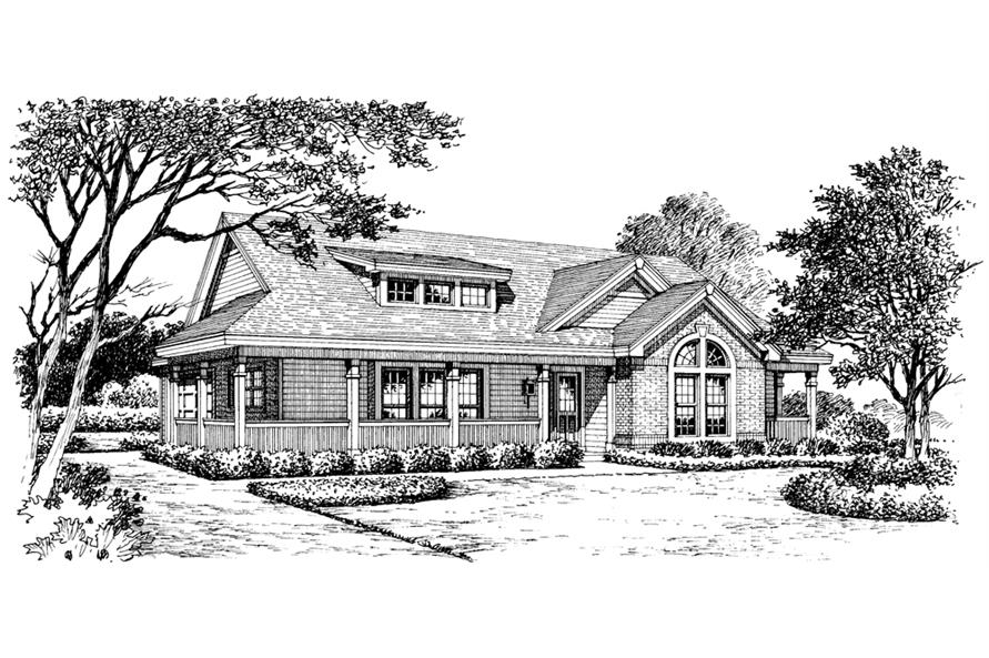138-1171: Home Plan Rendering