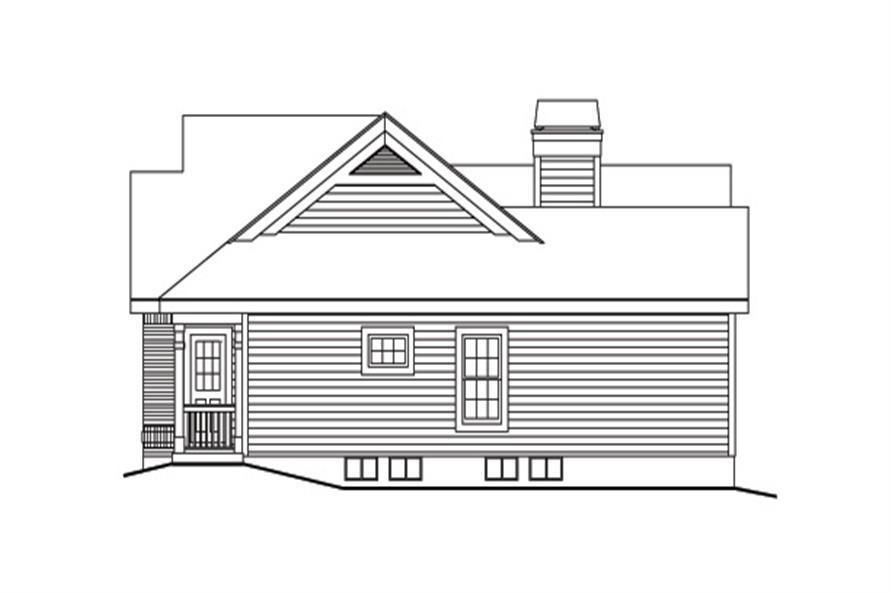 138-1171: Home Plan Right Elevation