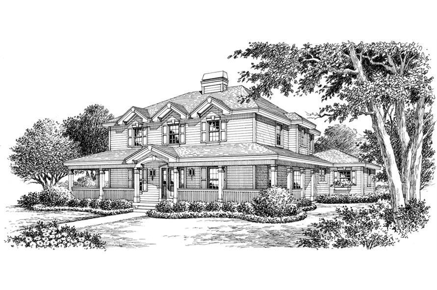 138-1172: Home Plan Rendering