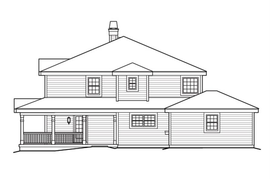 138-1172: Home Plan Right Elevation